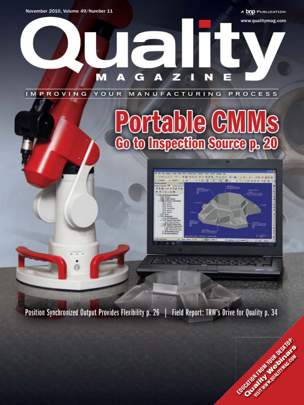 An image of the cover of Quality Magazine